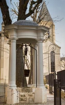 001 Cathédrale Nanterre - Le puits 1