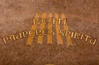 023 Cathédrale Nanterre  Béatitudes - Beati pauperes spiritu Détail 1
