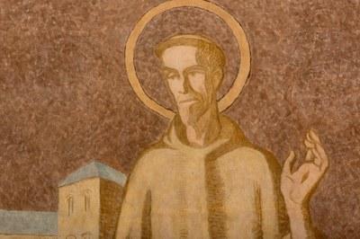 024 Cathédrale Nanterre  Béatitudes - Beati pauperes spiritu Détail 2