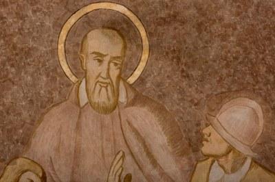 028 Cathédrale Nanterre - Béatitudes - Beati mites Détail 2