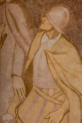 029 Cathédrale Nanterre - Béatitudes - Beati mites Détail 3
