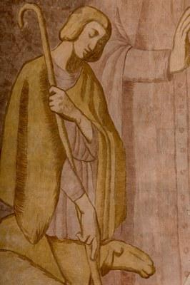030 Cathédrale Nanterre - Béatitudes - Beati mites Détail 4