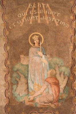 031 Cathédrale Nanterre - Béatitudes - Beati qui es ...justitiam