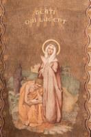 034 Cathédrale Nanterre - Béatitudes - Beati qui lugent