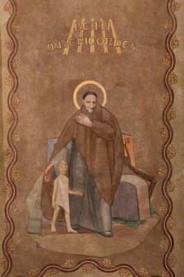 037 Cathédrale Nanterre - Béatitudes - Beati qui misericordes