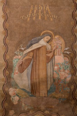 038 Cathédrale Nanterre - Béatitudes - Beati mundo corde